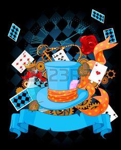 Illustration Of Wonderland Design Elements Royalty Free Cliparts, Vectors, And Stock Illustration. Image 31479078.