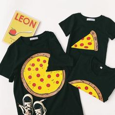 Pizza Matching Family T-Shirts – Cece Match Matching Family T Shirts, Shopping Bag, Pizza, Swimwear, Bags, Clothes, Fashion, Bathing Suits, Handbags