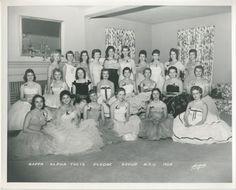 'kappa alpha theta pledge group MSU 1958'