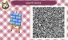 "star-btuz: "" I made my first path to match my town name Star☆ I followed a basic tutorial but I added the shading, details, colors and moss~! If you would like to download and use my design make sure to like/reblog this please!! Thank you! ☆ """