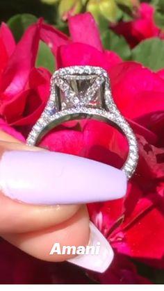 Expensive Wedding Rings, Big Wedding Rings, Wedding Ring Styles, Beautiful Wedding Rings, Unique Diamond Engagement Rings, Engagement Ring Shapes, Beautiful Engagement Rings, Diamond Wedding Rings, Pink Diamond Ring
