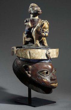 Yoruba Gelede Headdress, Nigeria