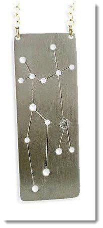 Constellation Jewelry Pendant Gemini