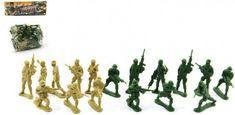 Sada vojáci plast v sáčku 18x20cm - 0