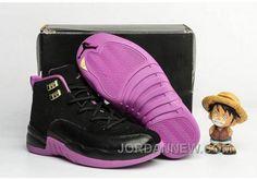 """http://www.jordannew.com/2017-kids-air-jordan-12-hyper-violet-basketball-shoes-super-deals.html 2017 KIDS AIR JORDAN 12 """"HYPER VIOLET"""" BASKETBALL SHOES DISCOUNT Only $79.00 , Free Shipping!"""