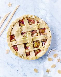 There's nothing more comforting than a slice of homemade pie – this one encases…