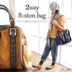 【2WAY!ショルダー&ボストン】収納充実!細部までこだわりのデザイン♪『2WAYボストンバッグ/ショルダーバッグ』【bag010-1667】[レディース][海外配送OK]【0405_レディースファッション】【RCPfashion】【楽天市場】