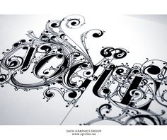 stunning lettering