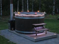 Paljun portaat Outdoor Spaces, Outdoor Decor, Yard Design, Cottage, Koti, Pools, Balcony, Places, Garden