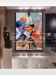 Abstract Painting Techniques, Abstract Canvas Art, Diy Canvas Art, Art Techniques, Painting Abstract, Acrylic Paintings, Painting Art, Colorful Abstract Art, Painting Walls