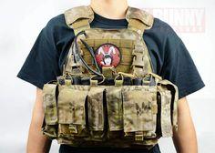 Mayflower APC In Kryptek Highlander War Belt, Bug Out Gear, Molle Vest, Battle Belt, Survival Essentials, Tac Gear, Chest Rig, Plate Carrier, Custom Guns