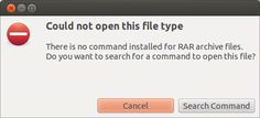 how to open rar files on ubuntu