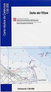Delta de l'Ebre [Document cartogràfic] / Institut Cartogràfic de Catalunya. Barcelona : Direcció General de Pesca i Afers Marítims, 2004