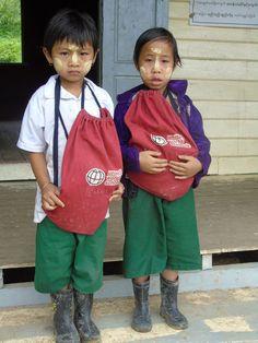 Brand new school bags! - United World Schools Charity