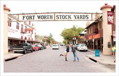 Engagement Session at Fort Worth Stockyards
