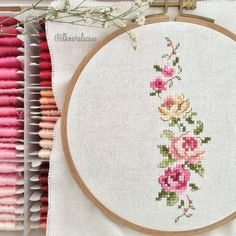 Cross stitch pattern I think is one of the best and it's so pretty Cross Stitch Pictures, Simple Cross Stitch, Cross Stitch Bird, Beaded Cross Stitch, Cross Stitch Borders, Cross Stitch Flowers, Cross Stitching, Cross Stitch Embroidery, Embroidery Patterns