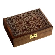 Indian Jewelry Holder  7 x 5 x 23 Inch Large Wood Box  Jewelry Boxes for Bracelet  Gift for Mom -- You can get additional details at the image link.