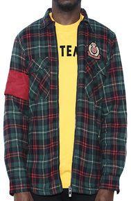 Nerdy Fresh St Raphael Flannel shirt Jacket