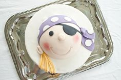 Pirate cakes | CakeJournal | How to make beautiful cakes, sweet cupcakes and delicious cookies