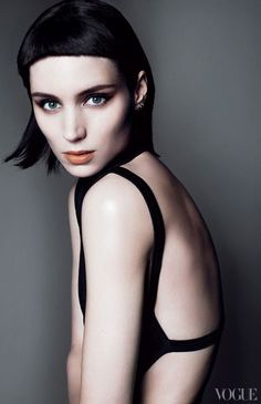 work in itself is pure genius. The girl who not only got the character under her skin, but also looks strong enough to make a great cover even as a complete anonymous, stares you right in the eye. And you suddenly feel.. undressed. And exposed.  Rooney Mara ......