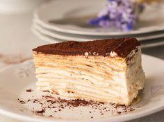 Crepes Tiramisu Cake
