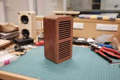I built a mahogany Bluetooth speaker for my girlfriend. Check out the full project http://ift.tt/2cUDHX9 Don't Forget to Like Comment and Share! - http://ift.tt/1HQJd81