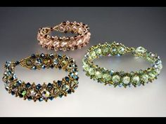 Parisian lights bracelet tutorial by Jill Wiseman. She's a great teacher. Also check out her tutorial on cubic right angle weave.