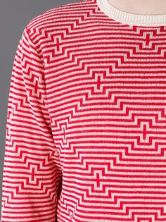 I don't know whether this is an ugly Christmas sweater or a beautiful sweater. Henrik Vibskov - XRAY ROUNDNECK 5
