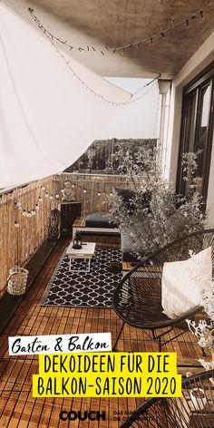 Decoration ideas for your balcony – ruche Balcony Garden, Indoor Garden, Decoration Chic, Balkon Design, Apartment Balconies, Back Gardens, Outdoor Living, Outdoor Rugs, Pergola