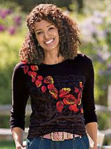 Women's Saturday Market Long-Sleeved Tee | Sahalie