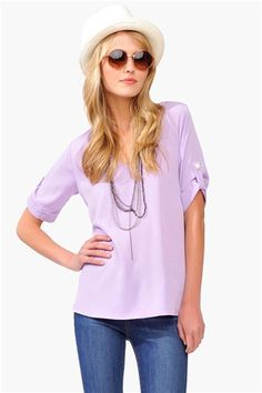 Dress Her Top - Violet