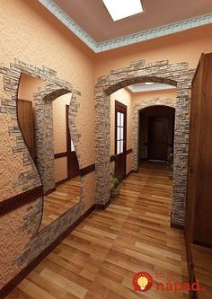 Ideas home renovation design house Diy Furniture Plans, Interior Decorating, Interior Design, Decorating Tips, Dining Room Walls, Faux Stone, Stone Houses, Design Case, Elegant Homes