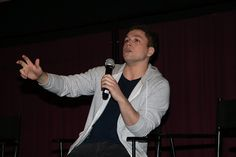 Taron Egerton attends a special screening of 'Eddie The Eagle' during Ain't It Cool News' 17th Annual Butt-Numb-A-Thon at the Alamo Drafthouse on December 13, 2015 in Austin, Texas.