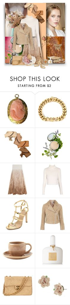 """Untitled #983"" by wildnature ❤ liked on Polyvore featuring FRIDA, Dean Harris, Chanel, Origins, Donna Karan, Morgan, Charline De Luca, Topshop, Toast and Tom Ford"