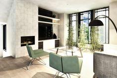 Plan de Maison Moderne Ë_140 | Leguë Architecture Plane, Small Modern Home, Architect Design, Architecture, Home Remodeling, House Plans, House Design, How To Plan, Table