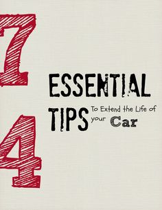"""Article on """"74 Tips to Extend the Life of Your Car"""" from Reader's Digest. http://www.rd.com/advice/saving-money/74-car-care-tips-to-keep-your-automobile-in-topnotch-condition/"""