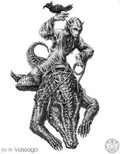 (3) VASSAGO (Goetic demon) influences those born 22/03 - 03/06 - 15/08 - 27/10 - 08/01. The Third Spirit is a Mighty Prince, being of the same nature as Agares. He is called Vassago. This Spirit is of a Good Nature, and his office is to declare things Past and to Come, and to discover all things Hid or Lost. And he governeth 26 Legions of Spirits.