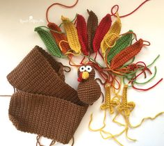 Gobble Gobble! It's Turkey Time! Celebrate November and the Thanksgiving holiday with this Crochet Turkey Wreath. A perfect piece of decor for your front door or inside walls. You can even take pieces of this pattern and make a free standing amigurumi suitable for a centerpiece! Materials: – Size G Crochet Hook – 10″ wreath …
