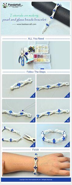 Une tutoriel de faire un bracelet de perles .