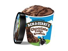 Ben & Jerry's Chocolate Ice Cream with Fudge Brownies. Chocolate Chip Cookies, Chocolate Fudge Brownies, Brownie Ice Cream, Chocolate Ice Cream, Chocolate Pudding, Peanut Butter Cups, Phish Food Ice Cream, Ben Und Jerrys, Sublime Chocolate