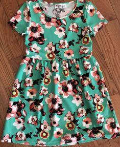 Gymboree Striped Multi Color Summer Dress Pink White Blue Sz 7 8 M NEW w Tag