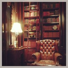 victorian library | Victorian home library
