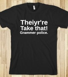 Grammer Police - From Bows to Toes - Skreened T-shirts, Organic Shirts, Hoodies, Kids Tees, Baby One-Pieces and Tote Bags
