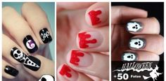 Mas de 50 diseños de uñas decoradas para Halloween 2015