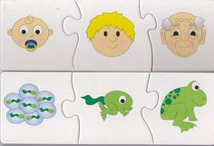 puzzle postupnosti Cognitive Activities, Preschool Activities, Sequencing Cards, Learning Time, Environmental Education, Therapy Tools, Tot School, Elementary Schools, Puzzles