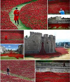 Barnebys.co.uk @Barnebysuk · Blood Swept Lands and Seas of Red by Paul Cummins features thousands of ceramic poppies