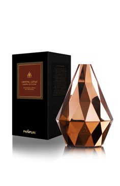 Image for Pañpuri Crystal Lotus Aroma Diffuser Copper from Kingpower