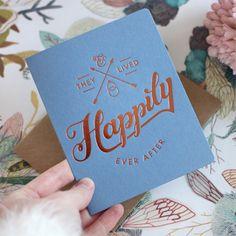 Letterpress Greeting Card   Letterpress Wedding Card