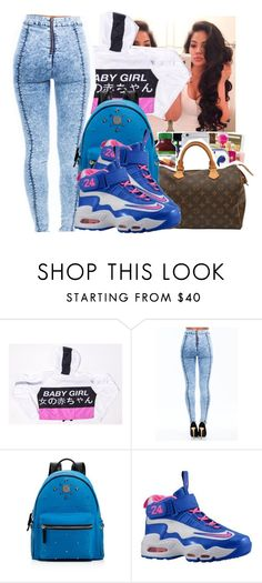 """""""Untitled #917"""" by chynaloggins ❤ liked on Polyvore featuring MCM, NIKE, women's clothing, women, female, woman, misses and juniors"""