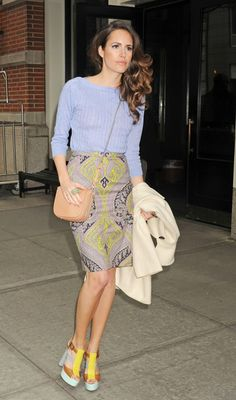 Louise Roe - Louise Roe Checks Out in NYC